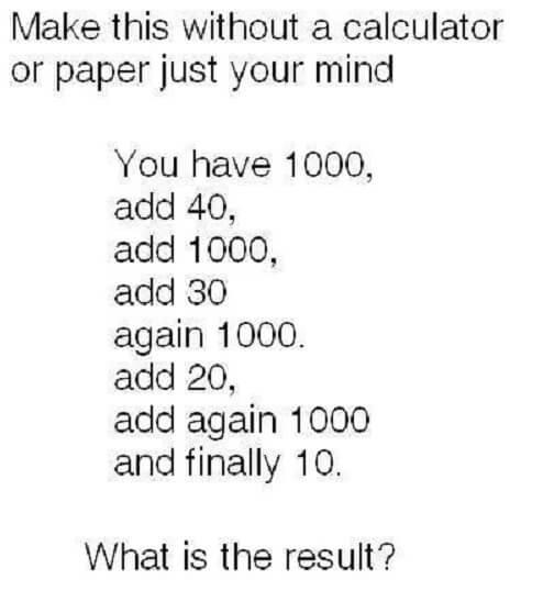 Neobična optička varka: Koliki ste vi rezultat dobili?