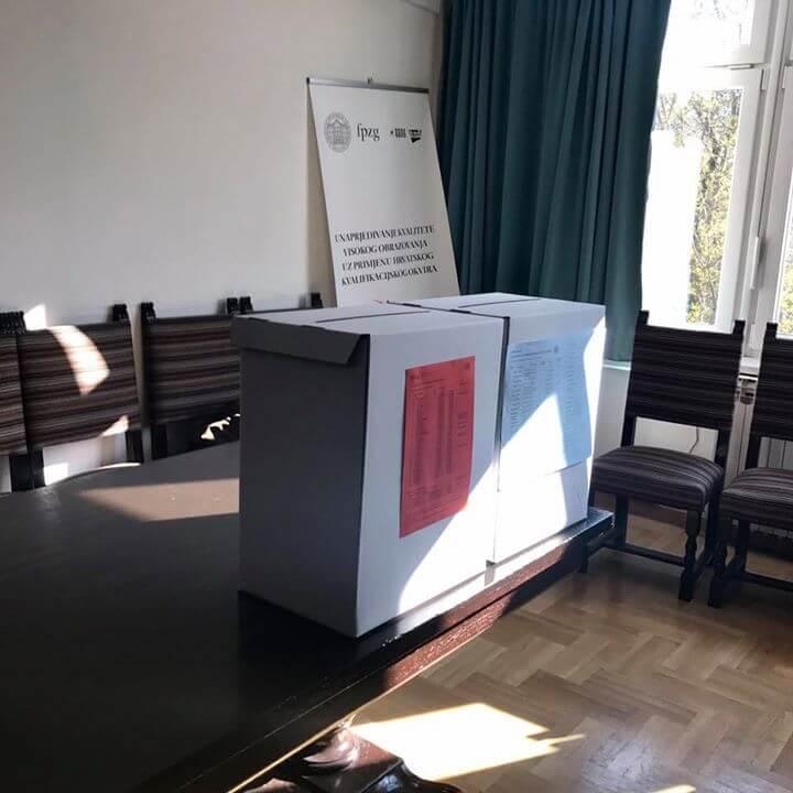 Na studentske izbore Sveučilišta u Zagrebu izašlo ukupno 15.95% studenata birača