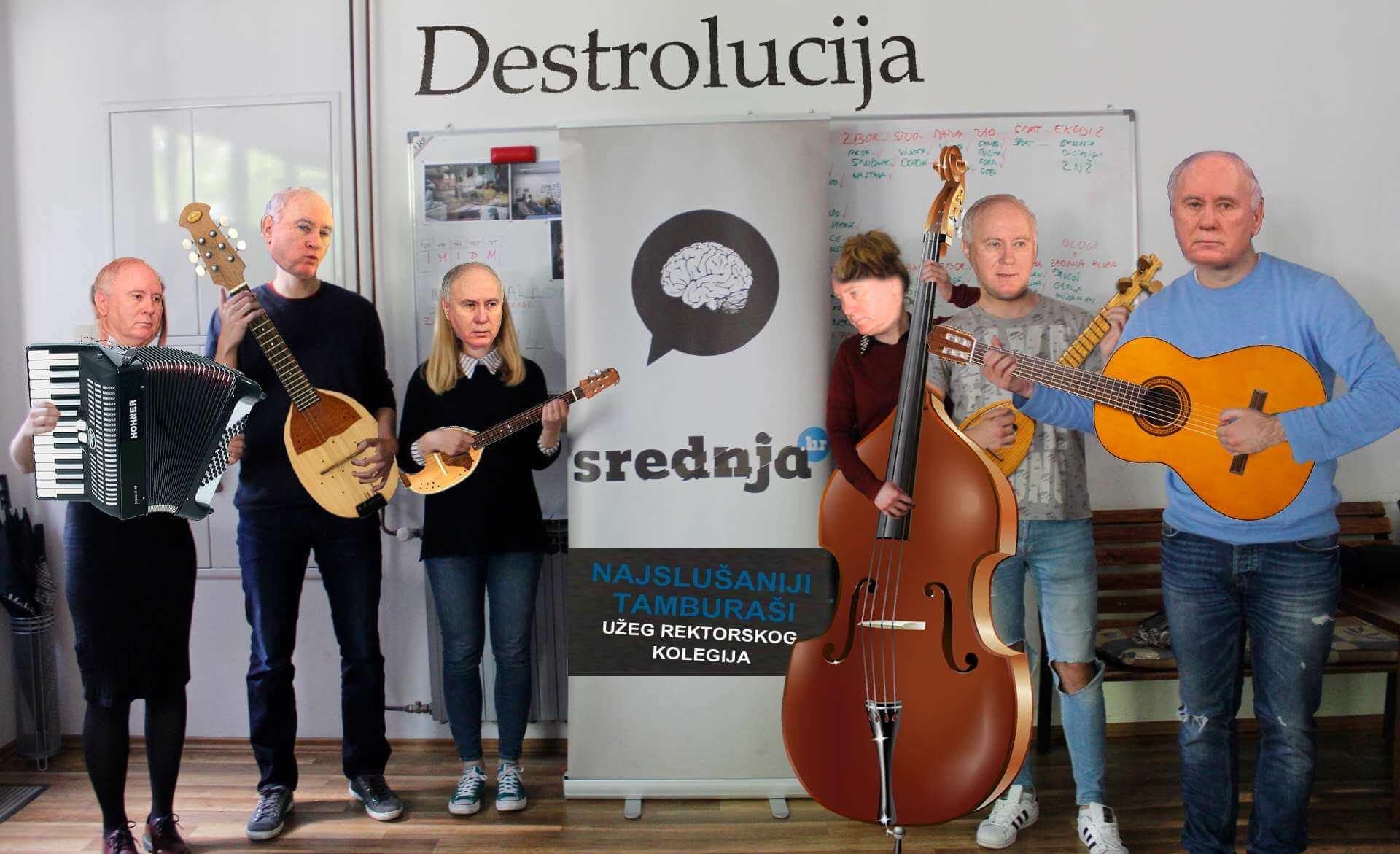 Lokalni tamburaši sa srednja.hr: Dva nova singla s albuma DESTROLUCIJA