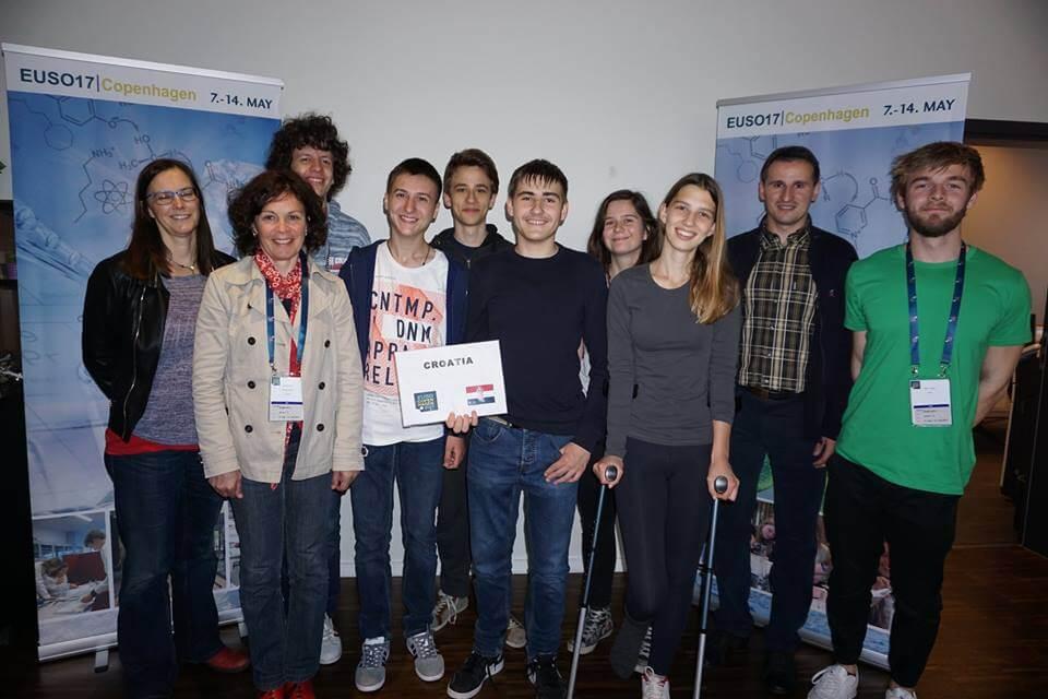 Hrvatski učenici pokorili konkurenciju na prirodoslovnoj olimpijadi EU