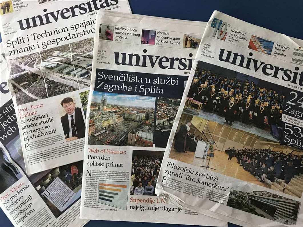 """Sveučilište troši milijune na Universitas, list u kojem su studente optužili za """"džihad na Rektorat"""""""