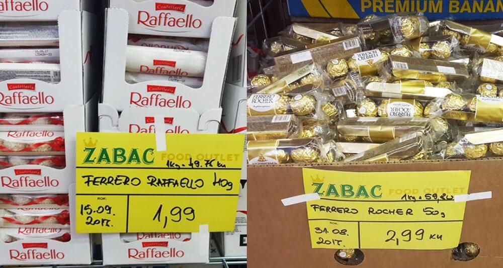 Slatkiši na popustu i do 90%: U Zagrebu otvoren novi food outlet