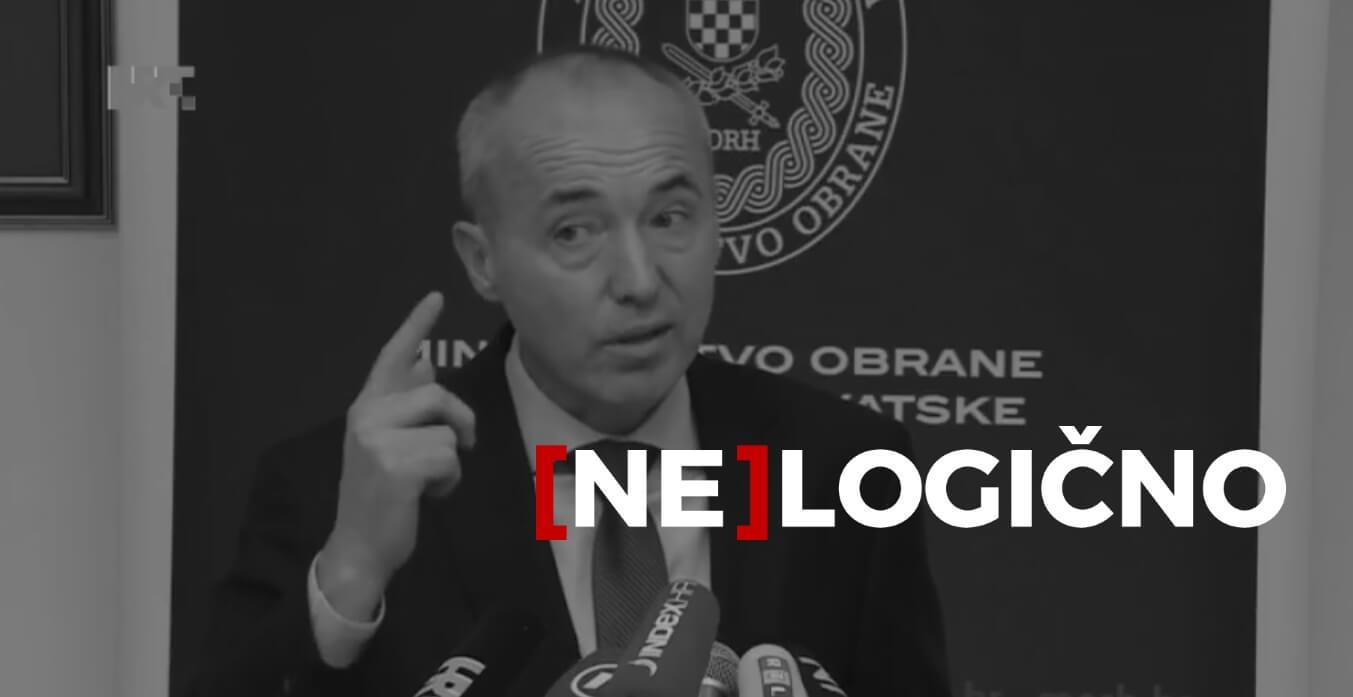 [NE]LOGIČNO Hibridni argumenti ministra Krstičevića