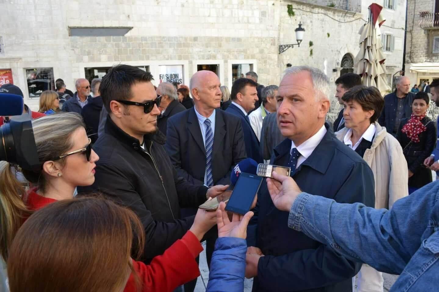 Splitski gradonačelnik epski pogriješio: Pročitajte što je rekao o Juditi