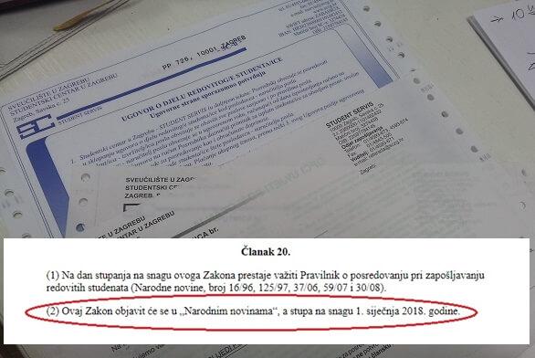 Studenti i Zakon o njihovu radu zadnja rupa na svirali: Pisali Plenkoviću i Divjak, a dobili odgovor koji je 'uvreda zdravom razumu'