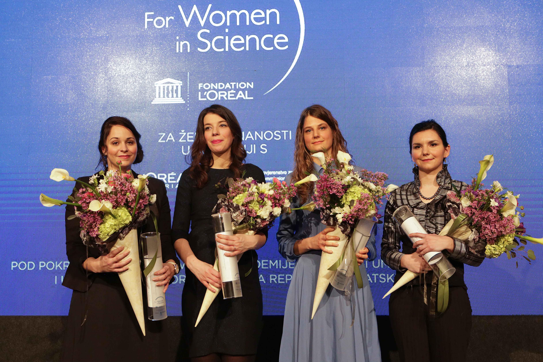 Poticaj da hrabro ustraju u stvaranju društva znanja: 4 izvanredne mlade znanstvenice nagrađene stipendijama od 5.000 eura