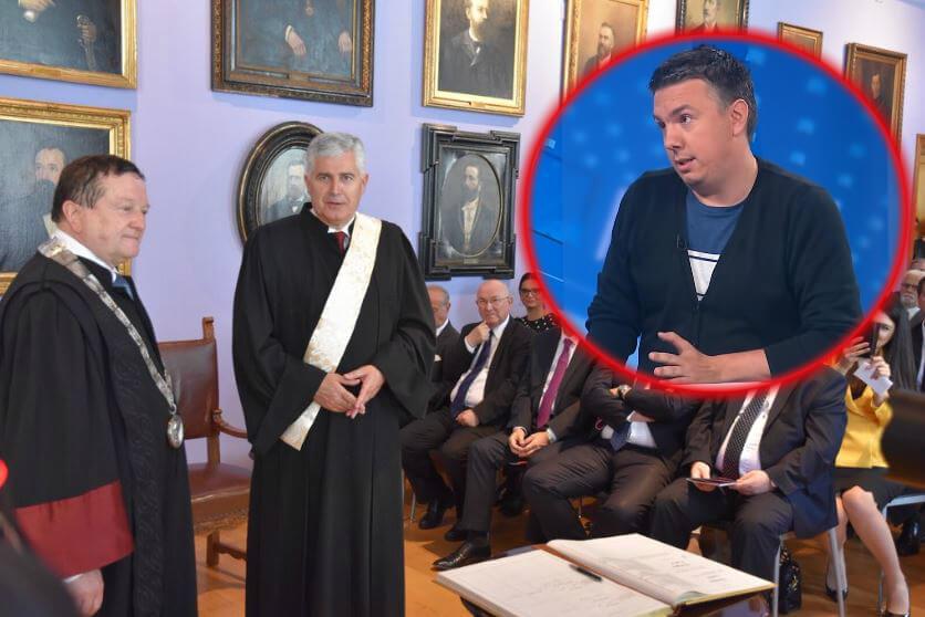 Profesor Pravnog fakulteta nada se da će Sveučilište u Zagrebu u budućnosti oduzeti počasni doktorat Draganu Čoviću