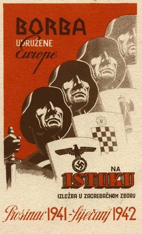 Na ispitu iz Povijesti mnoštvo pitanja o ratovima, a među njima i na koju je vojnu operaciju pozivao ovaj plakat?