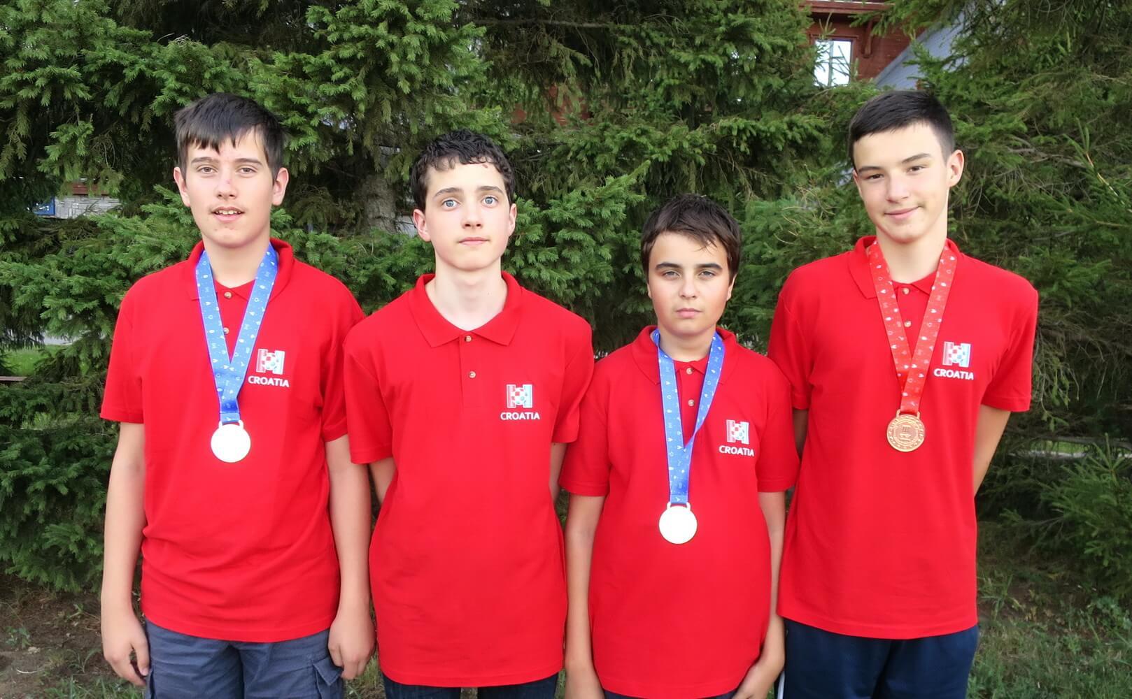 Nove medalje stižu nam iz Rusije: Genijalni informatičari osvojili dva srebra i broncu na Europskoj olimpijadi