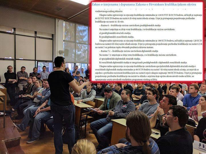 Dobre vijesti za studente stručnih studija: Izmjene Zakona uskoro u javnoj raspravi