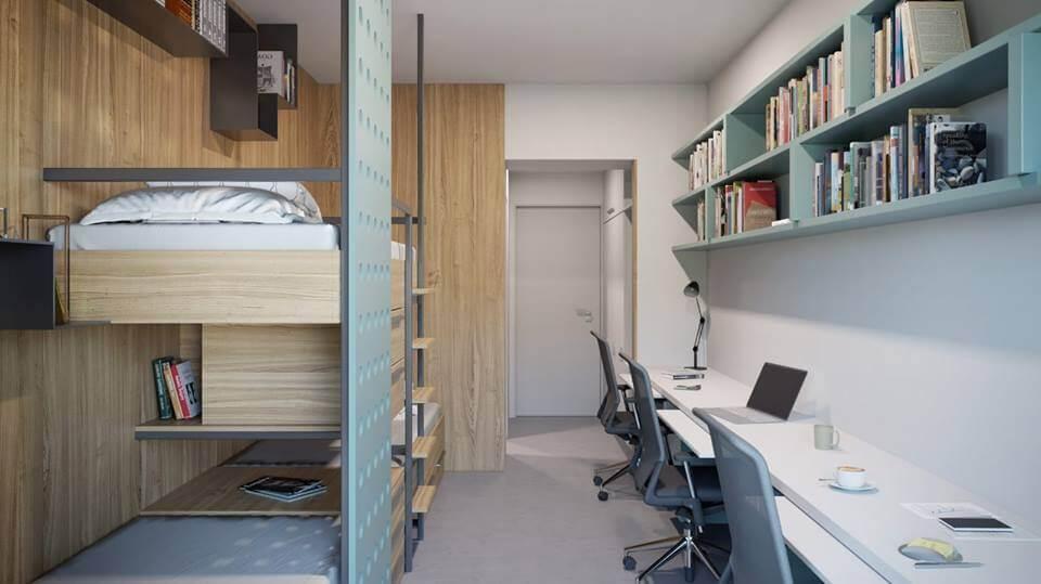 Obnova studentskog doma koji je zatvoren prije tri godine privodi se kraju