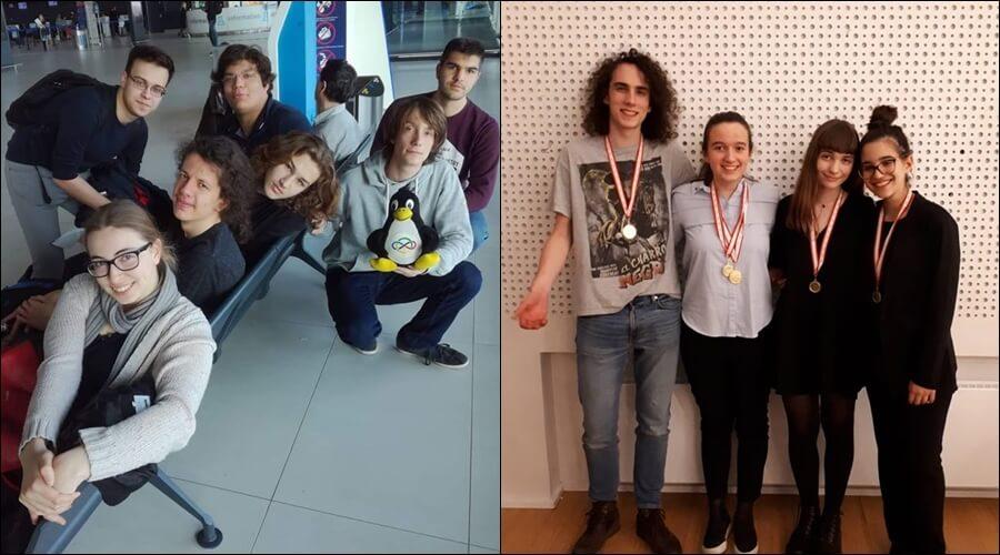 Dok je većina za vikend odmarala, naši su školarci rasturali na međunarodnim natjecanjima