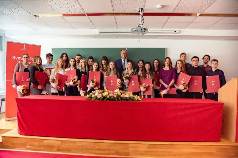 Dvadesetak studenata osvojilo Rektorovu nagradu na Sveučilištu Sjever