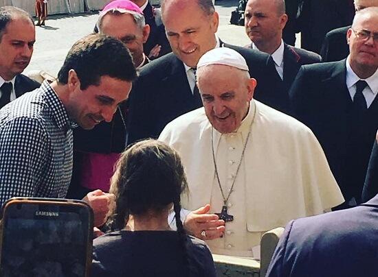 I papa Franjo podržava Gretu: Poručio joj da tako samo nastavi i dalje
