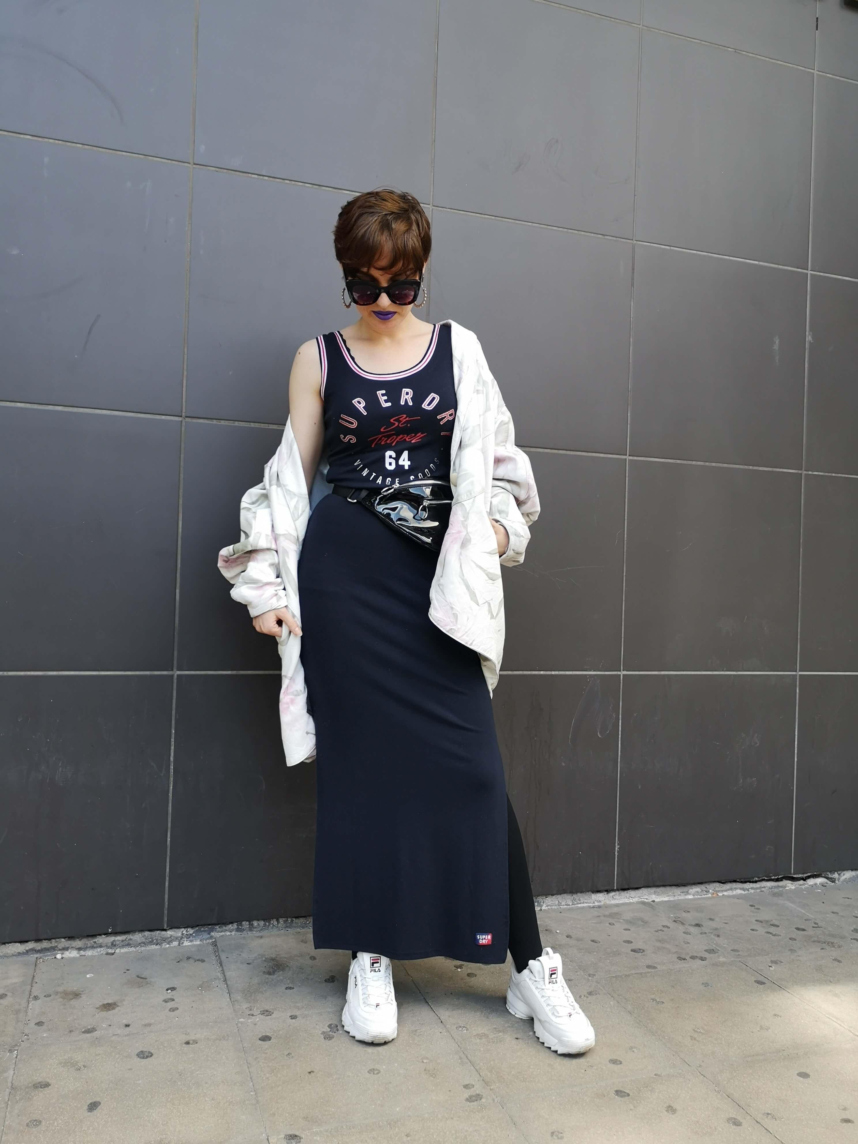 [MODNI KOLEGIJ] Sportska elegancija na budućoj modnoj dizajnerici izgleda neodoljivo!