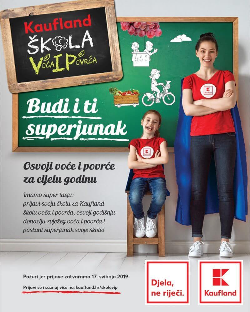 Trgovački lanac donira 200 tona svježeg voća i povrća za gotovo 30.000 hrvatskih školaraca