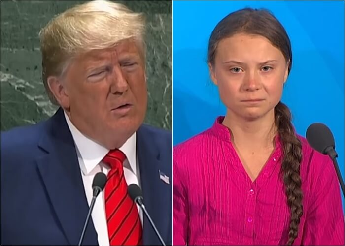 Kad se tinejdžerima rugaš na društvenim mrežama: Greta totalno 'istrolala' Trumpa na Twitteru