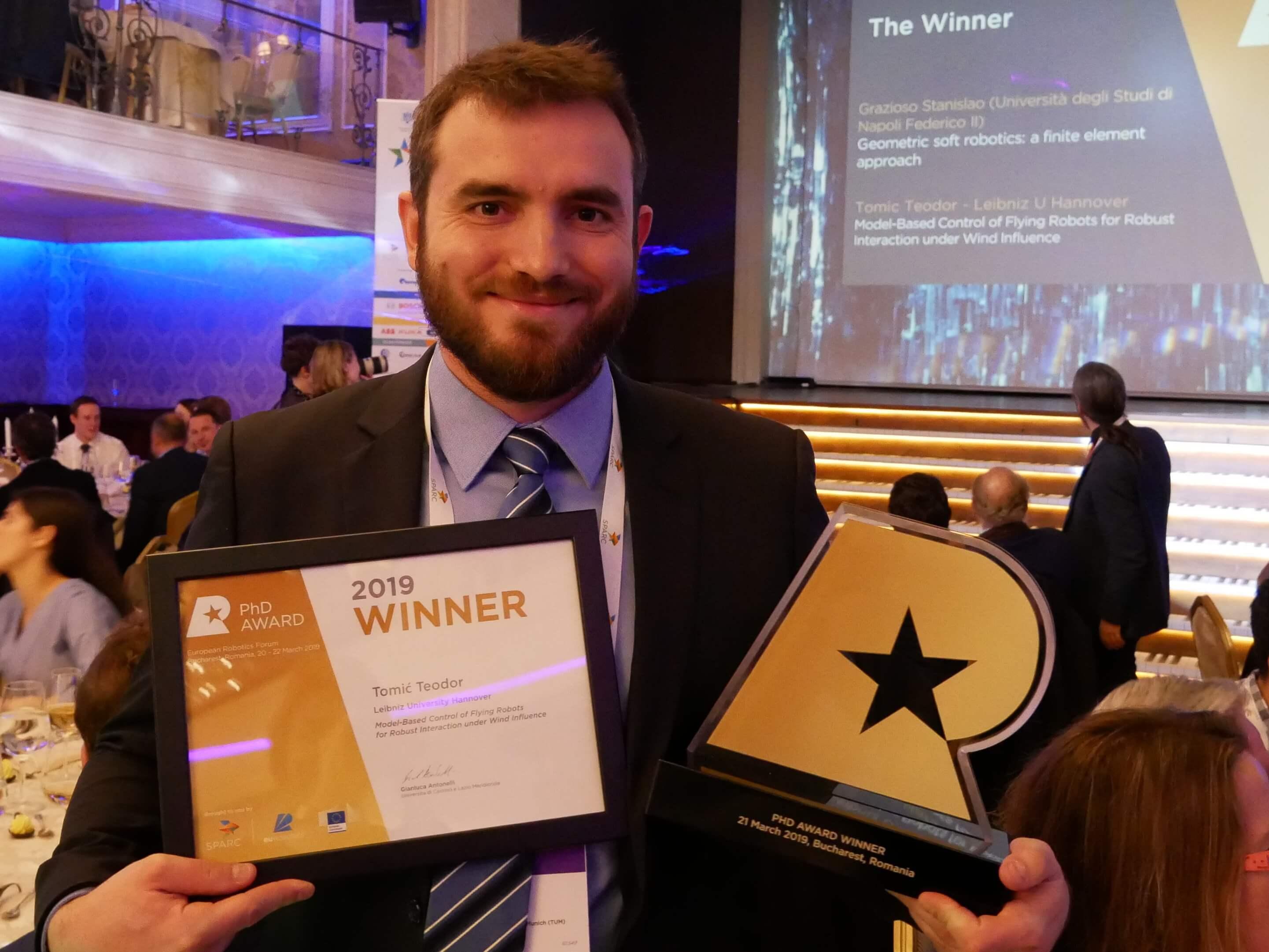 Bivši FSB-ovac pisao je o dronovima i dobio nagradu za najbolji europski doktorat