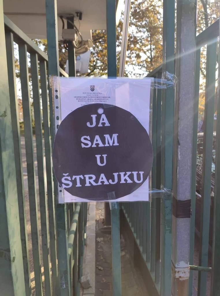 Štrajk na Institutu Ruđer Bošković