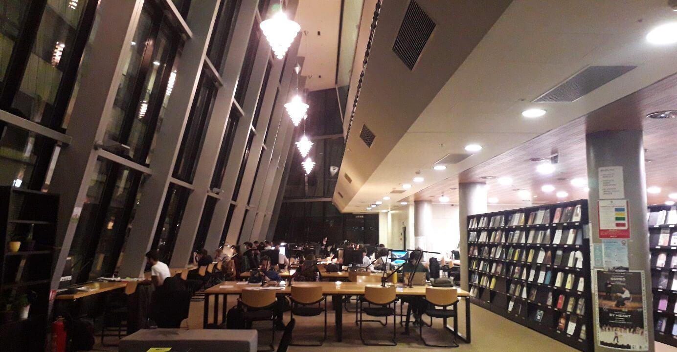 Stres zvan učenje u knjižnici na Filozofskom