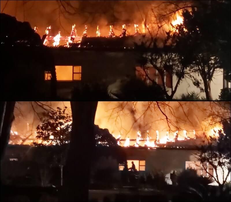 Ravnateljica otkrila uzrok velikog požara u školi u Kaštelu: Zbog divljaka nastala višemilijunska šteta