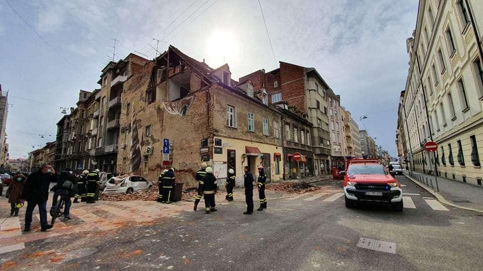 potres u Zagrebu   foto: DVD Trnje