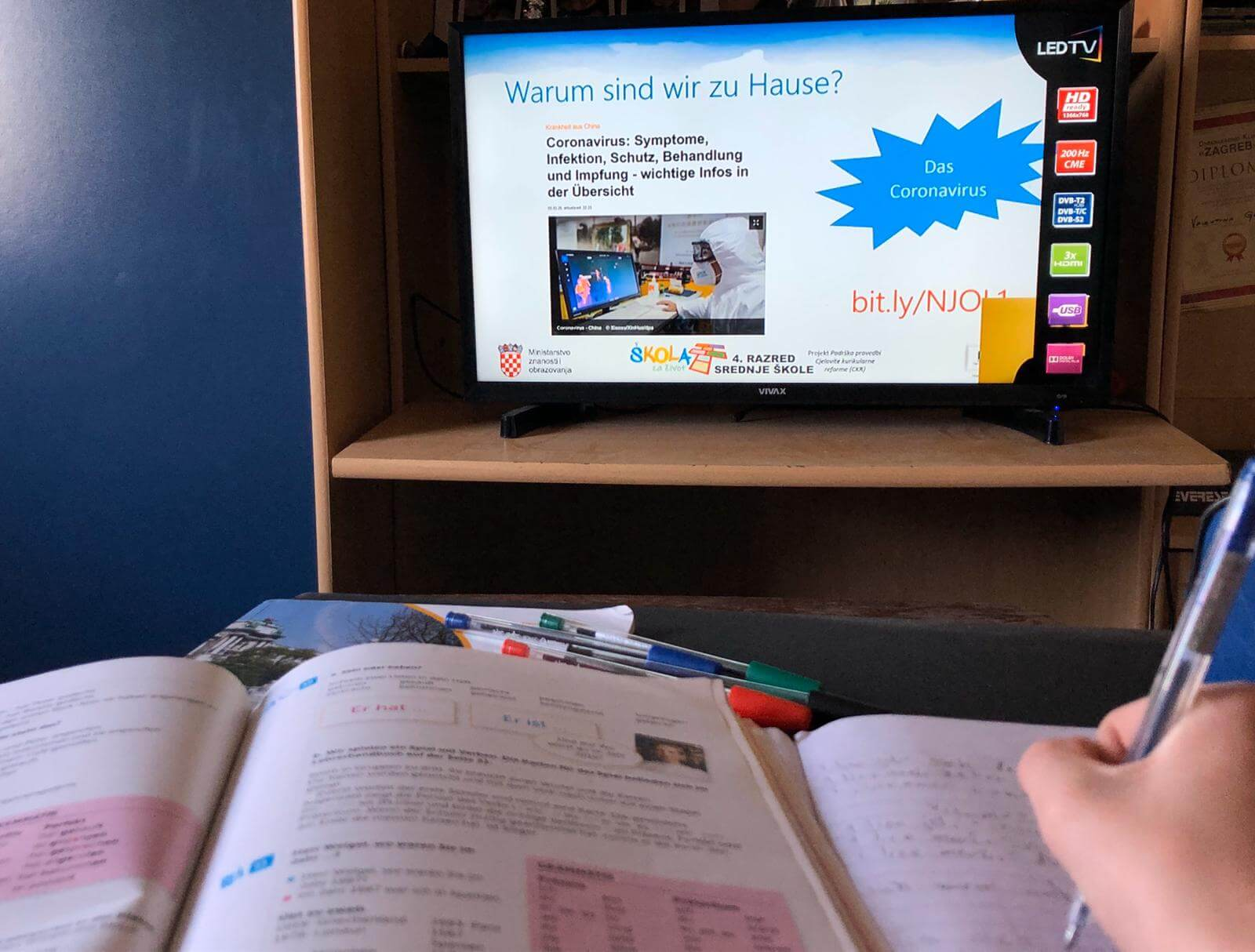 Još dvije županije objavile da polugodište počinje online nastavom za dio učenika
