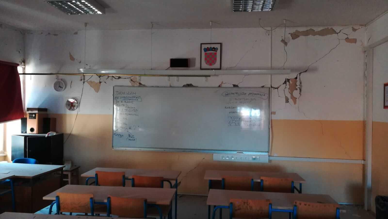 Doznali smo koliko je škola, prema sadašnjim podacima, oštećeno u potresu