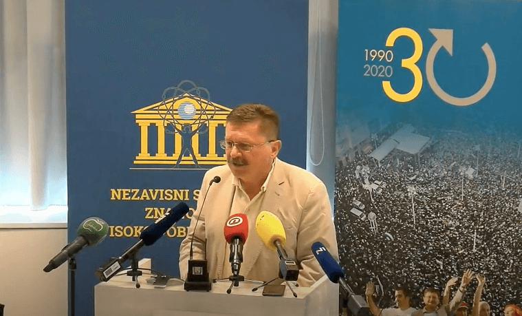 Sindikat održao presicu o razrješenju dekanice Filozofskog: 'Ovo je strašno nasilje'