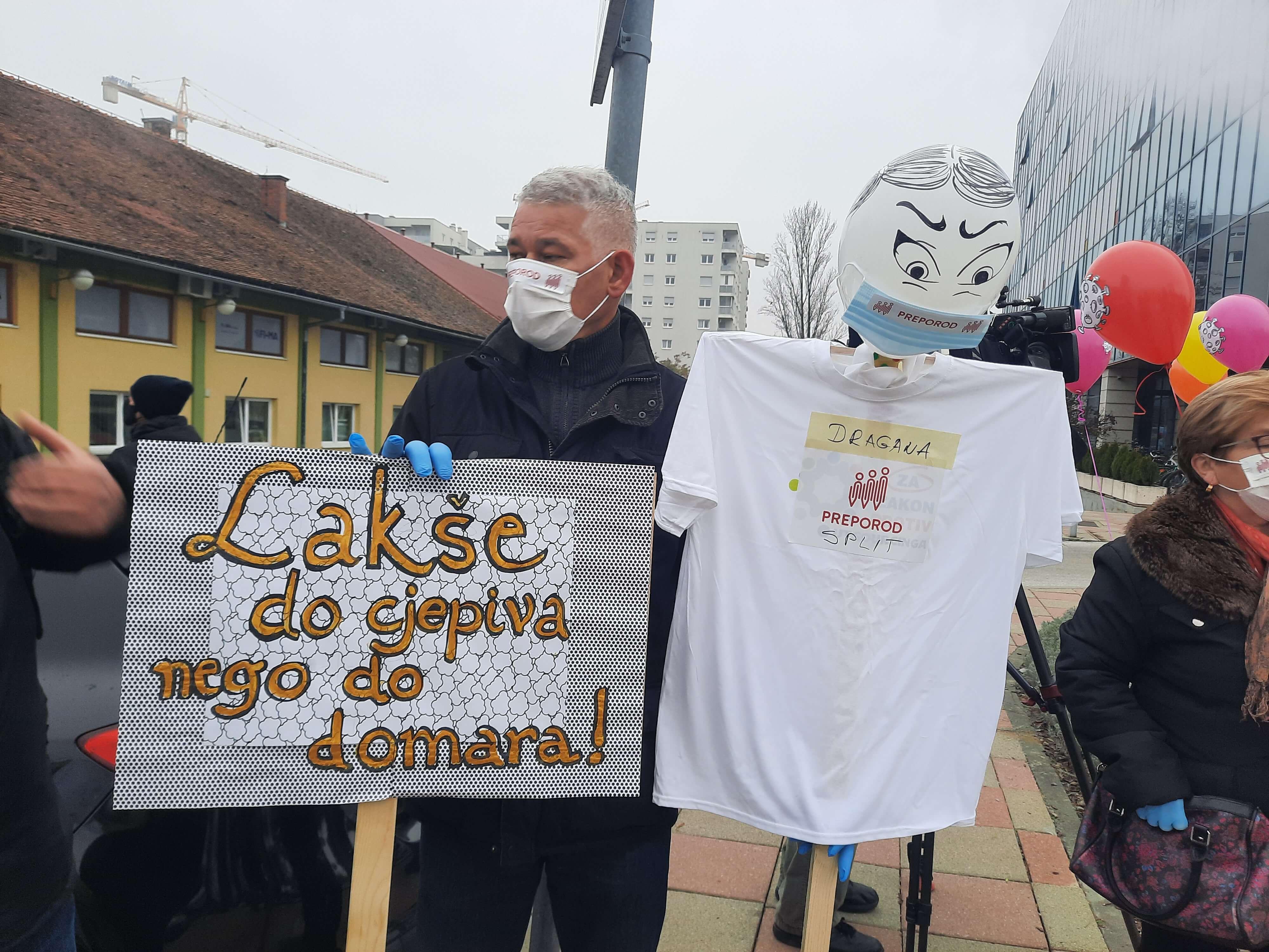 Sindikat Preporod ispred Ministarstva: Govore nam da sada nije pravi trenutak za prosvjed, ali kad je?