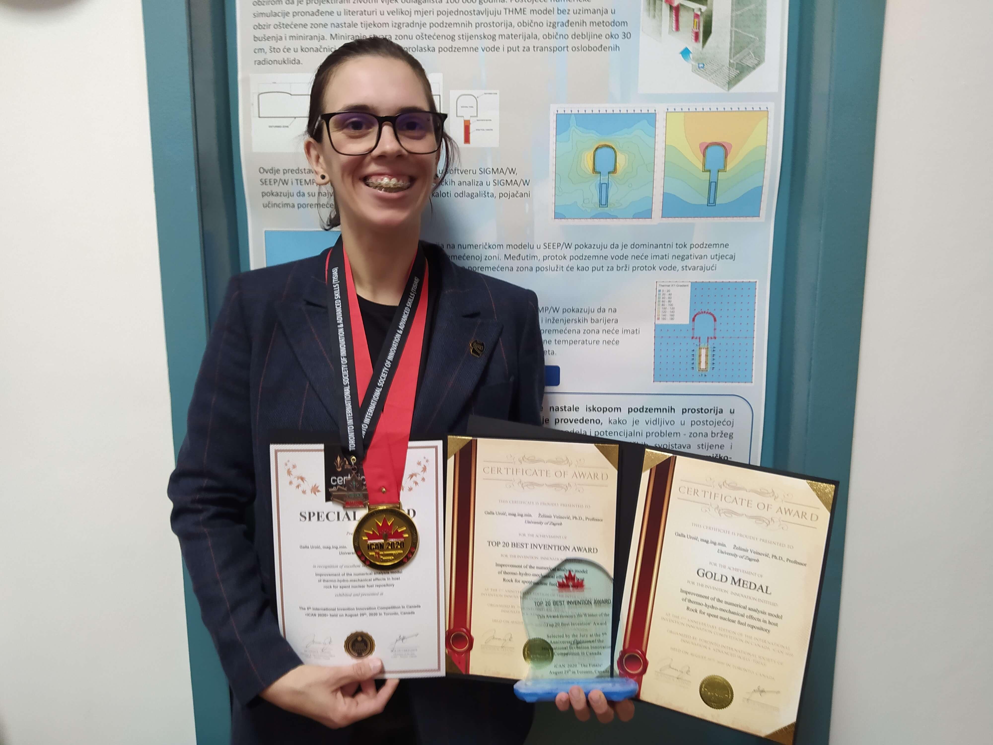 Studentica osvojila čak 11 nagrada: Planirala sam stati s projektima, ali onda je krenuo 'teror mailova'…