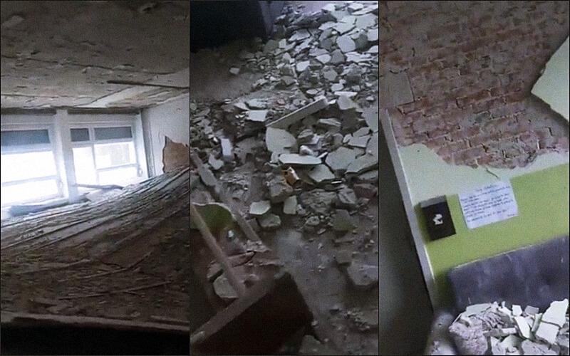 Šuta posvuda, stropovi urušeni: Ovako skoro dva mjeseca nakon potresa izgleda Učiteljski fakultet