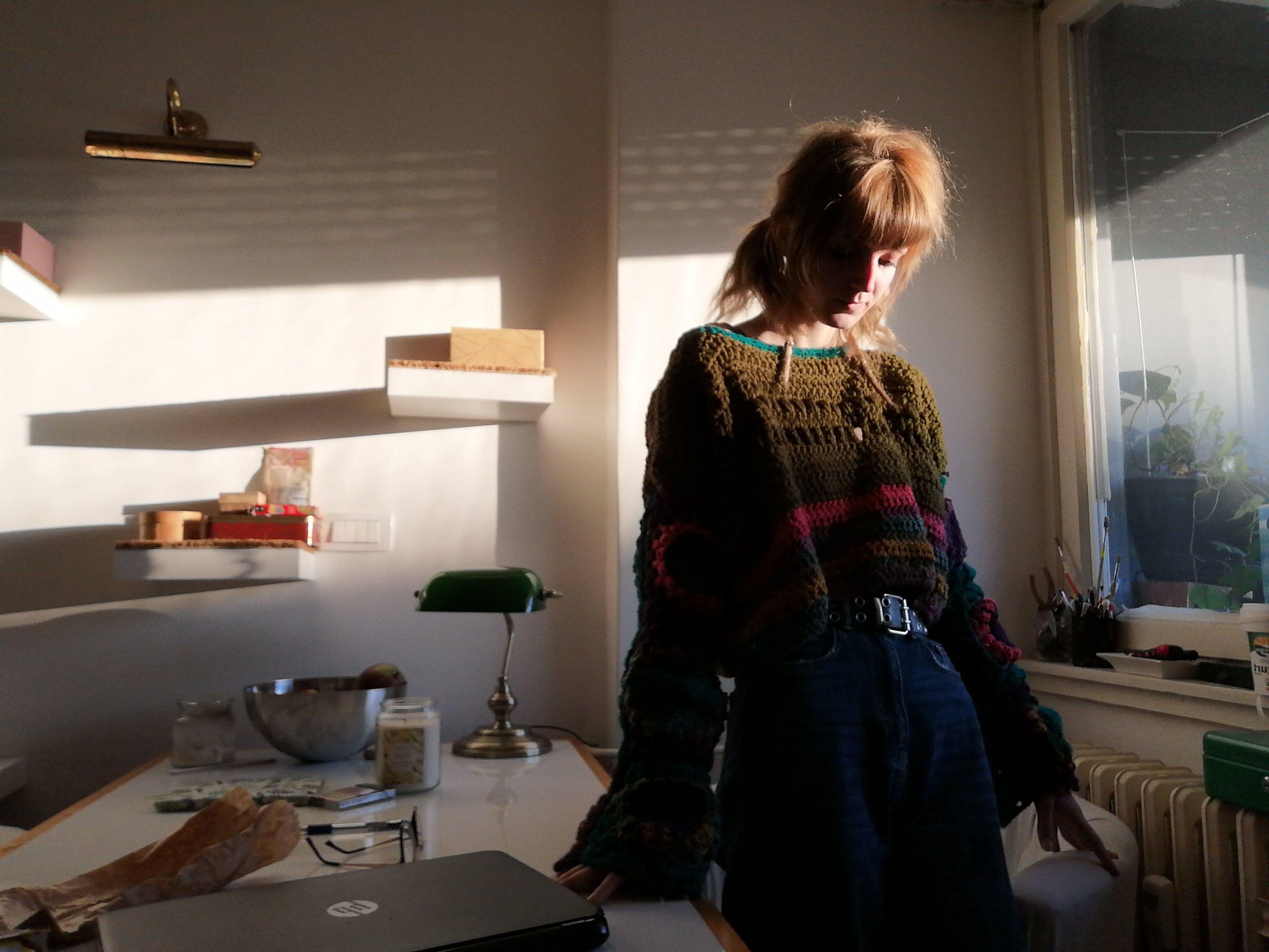 Tek joj je 20, a bavi se heklanjem: 'Nema boljeg osjećaja nego kad odjeneš svojih ruku djelo'
