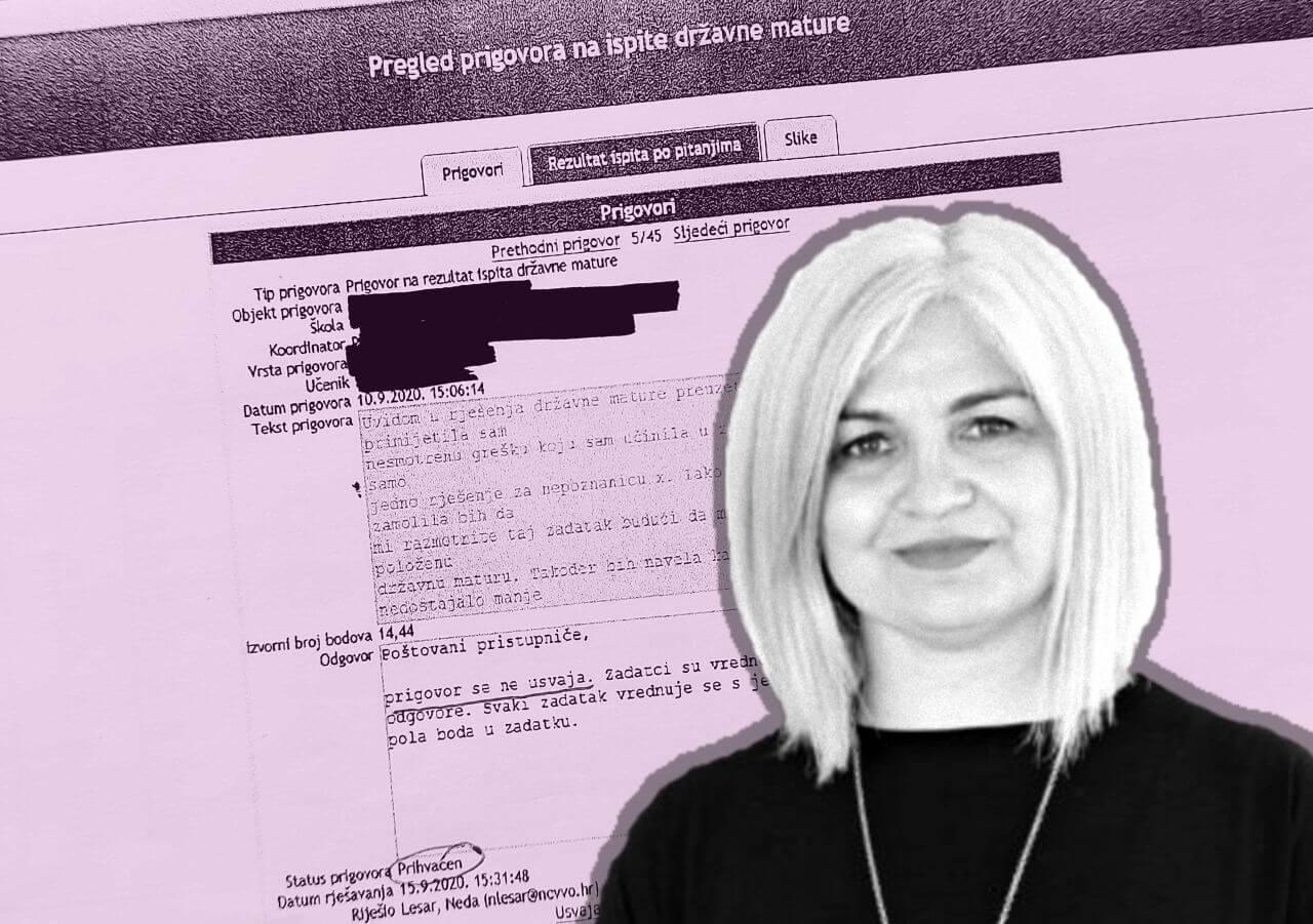 Nakon skandala na maturi, ipak je sama dala ostavku: Ivana Katavić više nije ravnateljica NCVVO-a