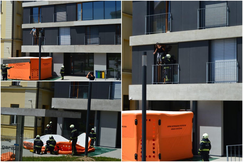 Nesvakidašnja scena u studentskome domu: Studenti skakali kroz prozor