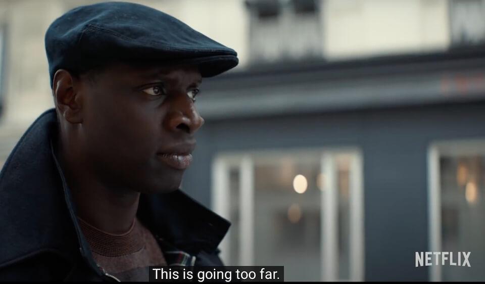 screenshot iz trailera za drugu sezonu serije lupin