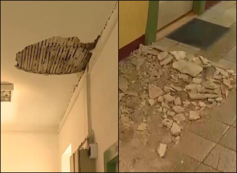 U današnjem potresu oštećena škola: Učenici će kraj godine morati dočekati online