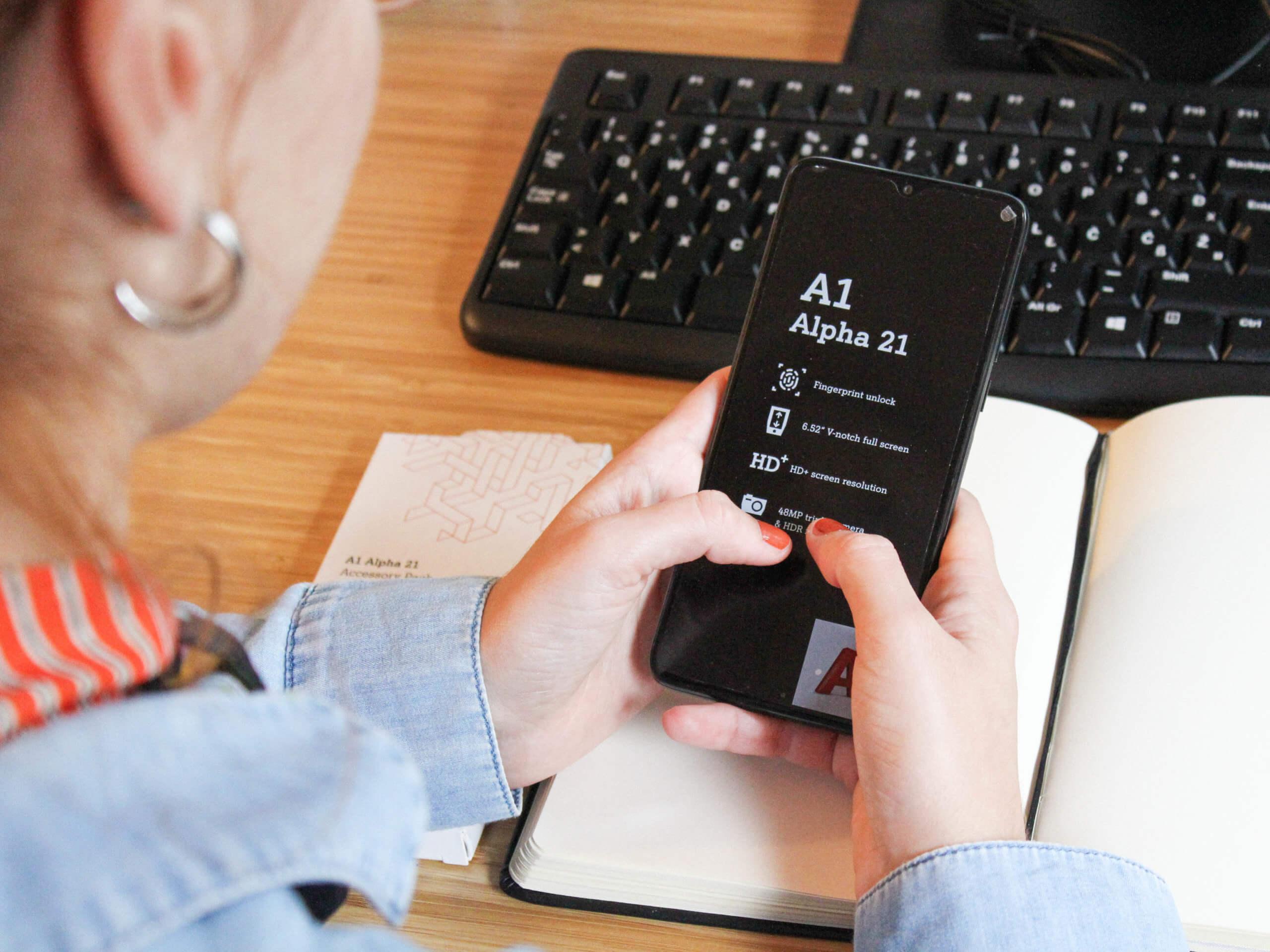 Isprobala sam mobitel koji košta 9 kn: Je li novi A1 Alpha 21 položio ispit cjelodnevnog korištenja?