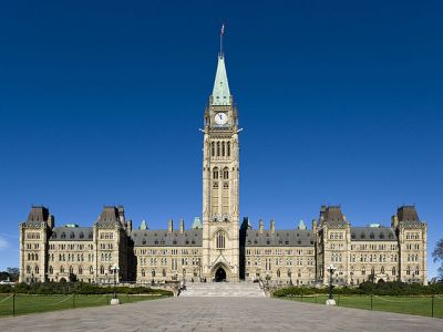 Canadian Parliament by Saffron Blaze