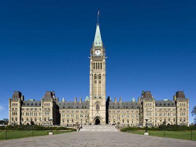 Canadian Parliament by Saffron Blaze