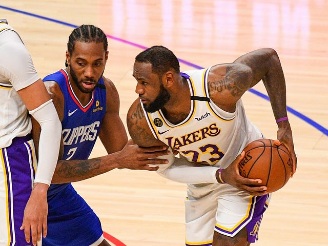 Kawhi Leonard's Clippers challenge LeBron James' Lakers on December 22nd.