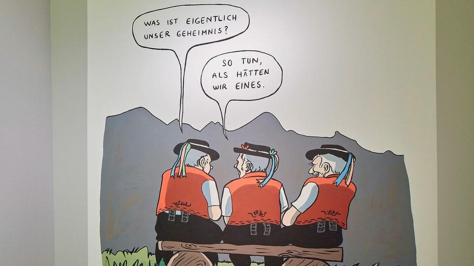 schweizer humor sind herr und frau