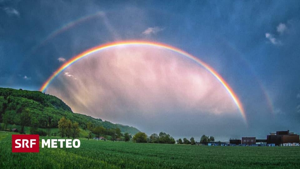 Lichtspektakel am Himmel - Doppelter Regenbogen - Meteo - SRF