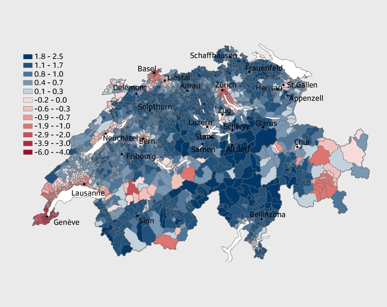 Leben in der Schweiz  So viel bleibt nach Abgaben und