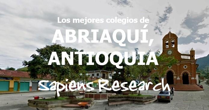 Los mejores colegios de Abriaquí, Antioquia