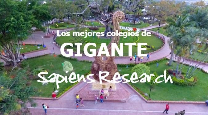 Ranking de los mejores colegios de Gigante 2019-2020