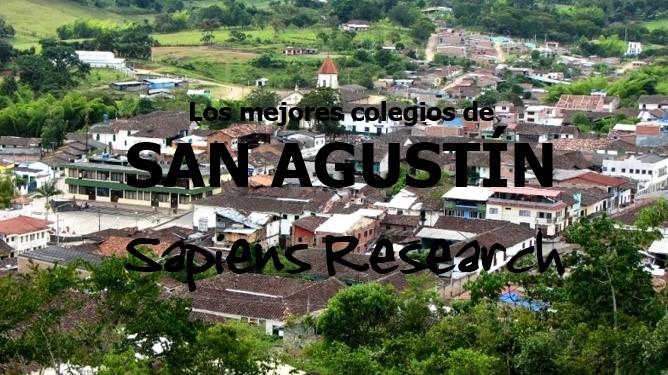 Ranking de los mejores colegios de San Agustín 2019-2020