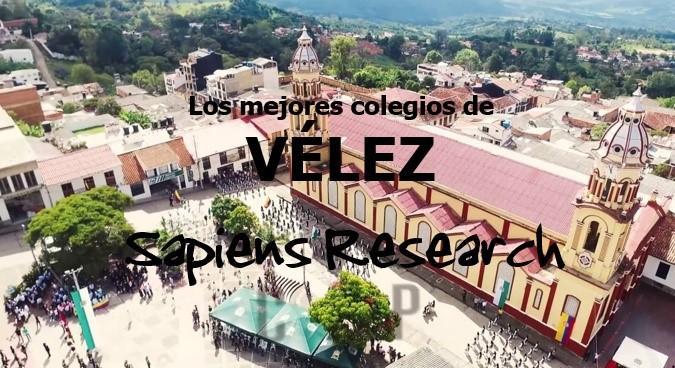 Ranking de los mejores colegios de Vélez 2019-2020