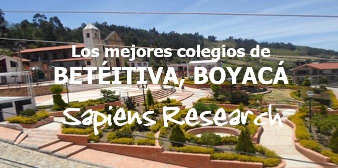 Los mejores colegios de Betéitiva, Boyacá