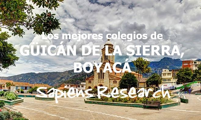 Los mejores colegios de Güicán de la Sierra, Boyacá